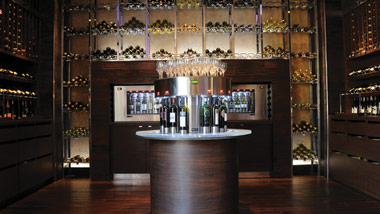 hostile grape wine racks and wine atm