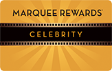 Image of a Marquee Rewards Celebrity card
