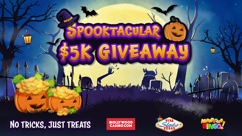 Spooktacular $5K Giveaway, No Tricks, Just Treats