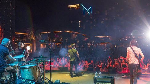 Live Entertainment M Resort Spa Casino