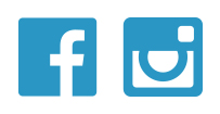 The logo icons for Facebook and Instagram.