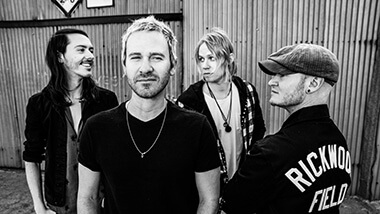 The members of the band Lifehouse