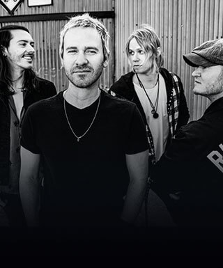 Members of the rock band Lifehouse.