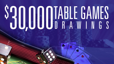 30K Table Games Drawing