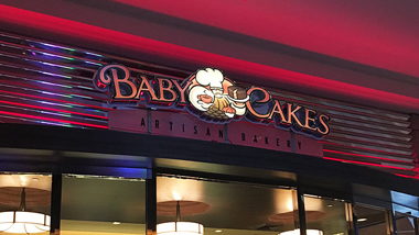 Baby Cakes Entrance