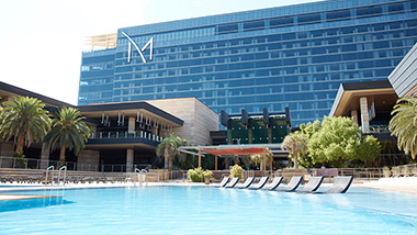 M Pool Vip Day Bed Cabanas Available M Resort Las Vegas