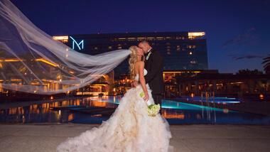 your ultimate las vegas wedding destination m resort spa casino