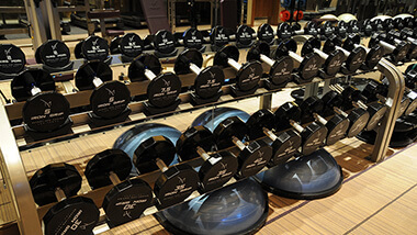 Fitness Room Weights