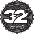 32 Degrees Draft Bar Logo